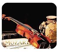 クラシック音楽水彩耐久性のあるマウスパッド