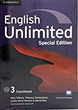 English Unlimited Level 3 Coursebook with Online Workbook and Workbook Special Updated Saudi Edition