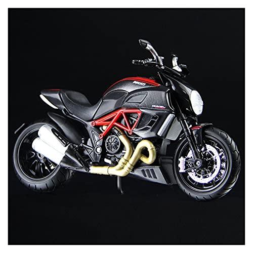 Boutique Simulación 1:12 Mini Motocicleta Cross-Country aleación para BMW Waterfowl R1200GS Modelo colección Adultos decoración Coche Juguete Regalo (Color : 6)