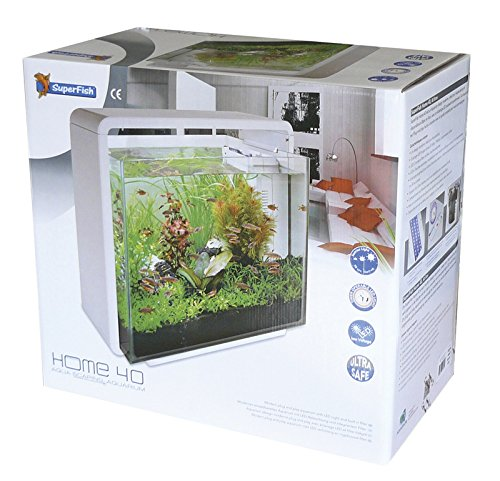 SuperFish Home Aquarien Set 40-60-80, Farbe:weiß, Modell:Home 80