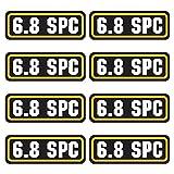 AZ House of Graphics 6.8 SPC Ammo Sticker 8 Pack