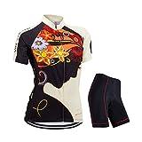 ZEROBIKE Women's Short Sleeve Cycling Jersey Jacket Cycling Shirt...