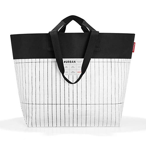 reisenthel urban bag tokyo black & white Maße: 68 x 45 x 30 cm / Volumen: 50 l