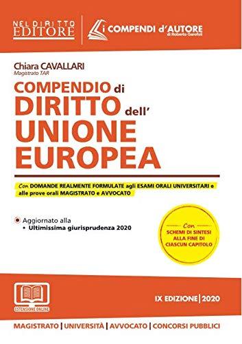 Compendio di diritto dell'Unione Europea. Con espansione online