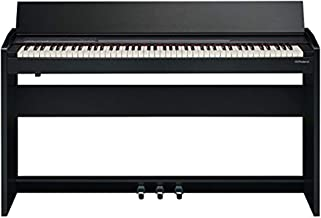 Roland F-104R Compact 88-Key Digital Piano with Built-in Speaker, Contemporary Black (F-140R-CB)