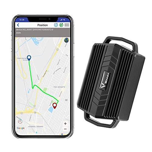 Mini Localizador GPS,GPS Tracker Tiempo Real Impermeable Rastreador GPS con Gratis App para Bicicleta Moto Anciano y Niño TK935