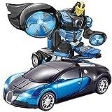 Ycco Deformación Transformadores de robot para autos Modelo 1:16 Carreras de vehículos e inteligencia inteligente de gestos Radio RC Eléctrico recargable 2.4G Robots de vehículos Juguetes para niños F