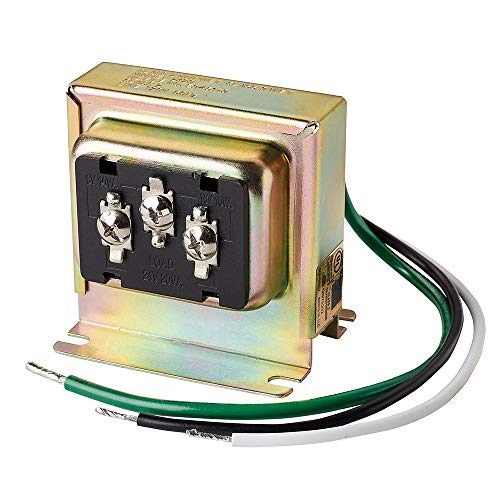 Newhouse Hardware 3TRAN Tri-Volt (8vac/10VA, 16vac/10VA or 24vac/20VA) Transformer for Ring, Nest and Standard Doorbells 1pk, Assorted