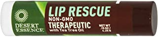 Desert Essence Lip Rescue Therapeutic with Tea Tree Oil - 0.15 oz - Case of 24-pack of 1