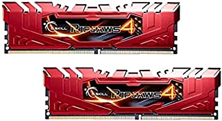 G.Skill Ripjaws 4 módulo de - Memoria (16 GB, 2 x 8 GB, DDR4, 2666 MHz, Rojo)