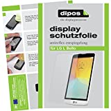 dipos I 6X Schutzfolie matt kompatibel mit LG L Bello Folie Bildschirmschutzfolie