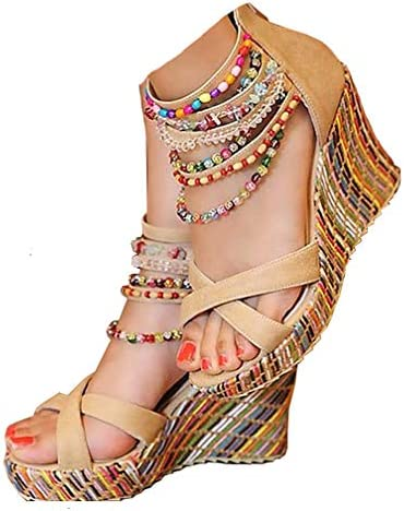 Colorful wedge heels _image1
