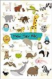 Poster 40 x 60 cm: Mein Tier-ABC von Julia Reyelt -