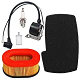 Carkio Air Filter Combo Pre Cleaner with Ignition Coil Spark Plug Fuel Filter