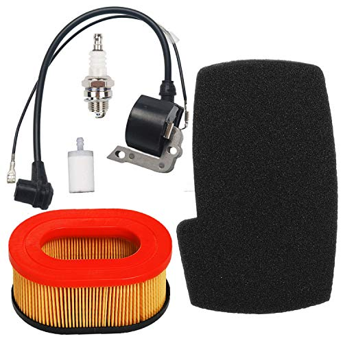 Price comparison product image Carkio Air Filter Combo Pre Cleaner with Ignition Coil Spark Plug Fuel Filter Tune Up Kit Compatible with Partner K650 K700 Cut-Off Saws Engine 506-22-42-01 506 22 63-01