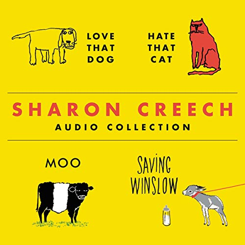 The Sharon Creech Audio Collection audiobook cover art