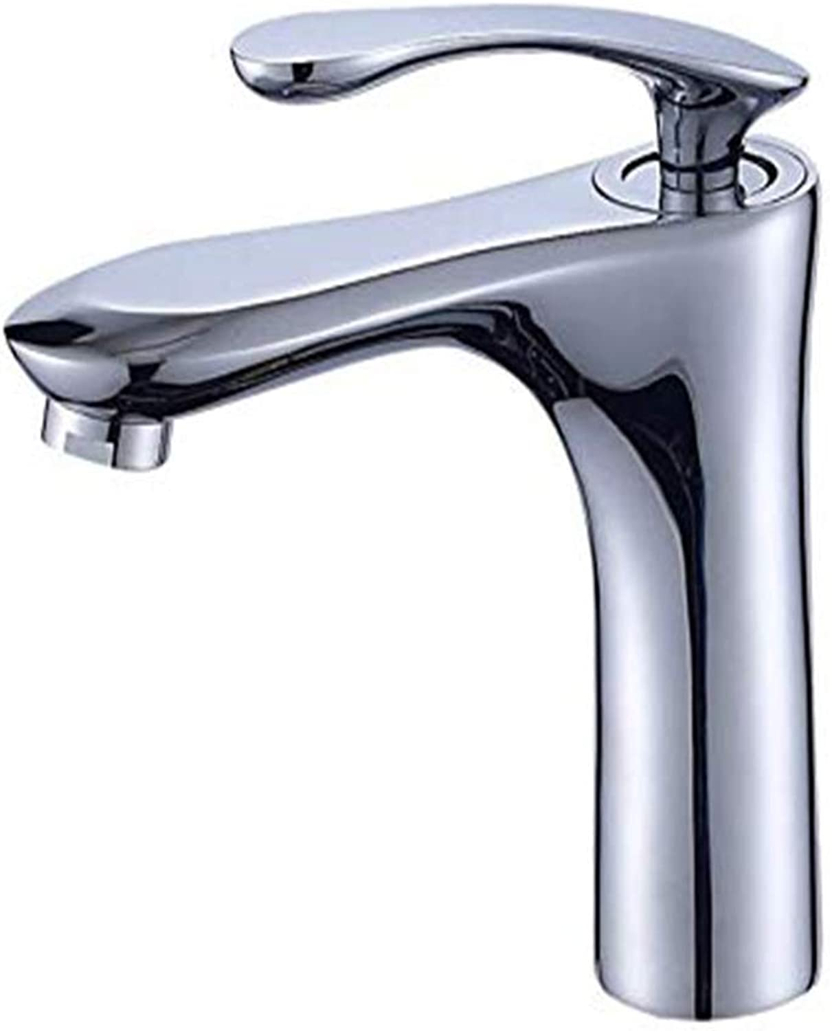 Modern Double Basin Sink Hot and Cold Water Faucettoilet Washbasin Hot and Cold Copper Single Handle Single Hole Faucet