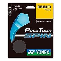 YONEX ポリツアースピン17 120テニスストリング ブルー
