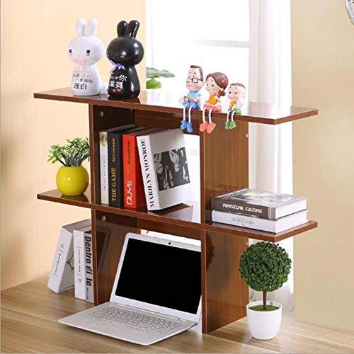 Genérico - Estantería para libros de oficina o libros de madera para manualidades, organizador de escritorio