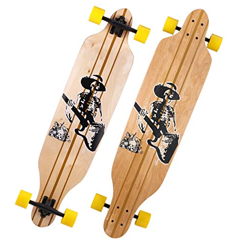 Skateboard, Long Board Road tiener jongens en meisjes Brush Street Dance Board Beginner Double Rocker Skateboard Lichtgevende Professionele Scooter