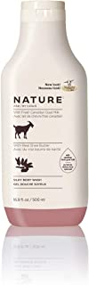 lovers care goats milk body wash
