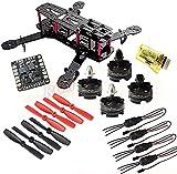 Hobbypower DIY 250mm Quadcopter Frame Kit+ HP T2204 2300KV Motor +Simonk 12A ESC +CC3D Flight Controller +5045 Propeller