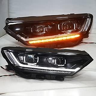 Generic for 2017-2018 year European Version VW Passat B8 LED Strip Headlights LED turn lights LD