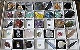 Coleccion de minerales del mundo, 40 unidades