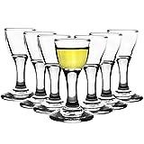 12er Set Mini Aperitif Gläser 17ml Schnapsgläser Shotgläser Pinnchen Wodka Whiskey Stamper Ouzo...