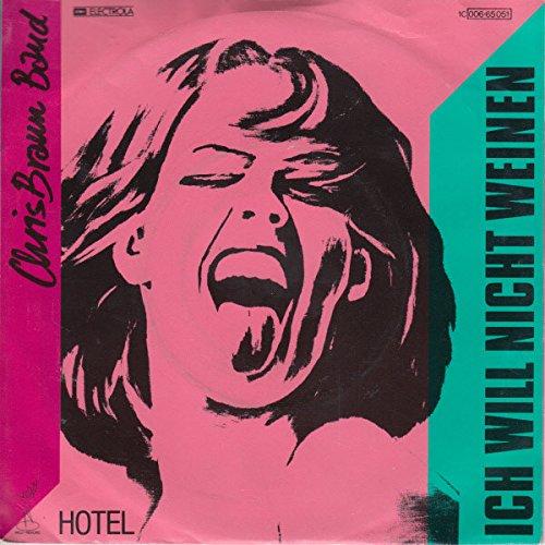 Ich will nicht weinen / Hotel / 1C 006-65 051