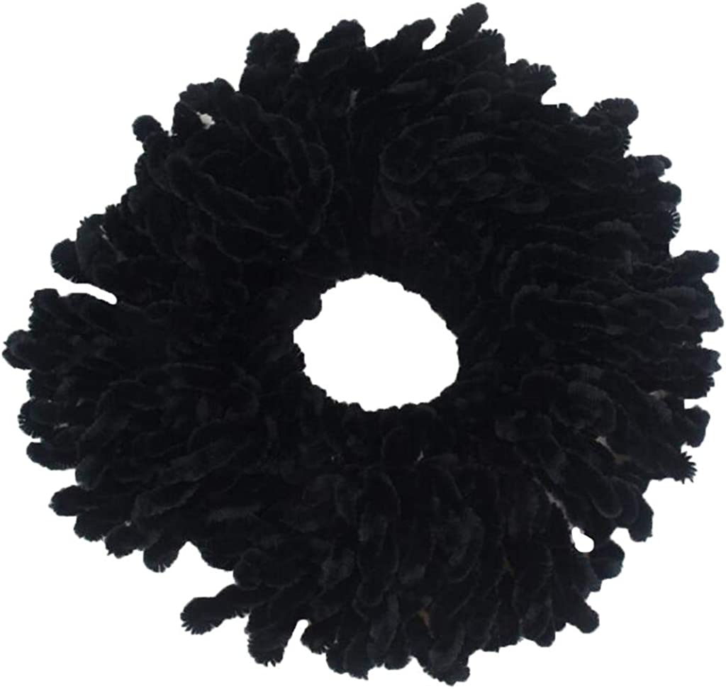 ZANFUN Headband Headwrap Muslim Flexible Rubber Band Simple Hijab Volumizing Scrunchie Large Elastic Twisted Headwear