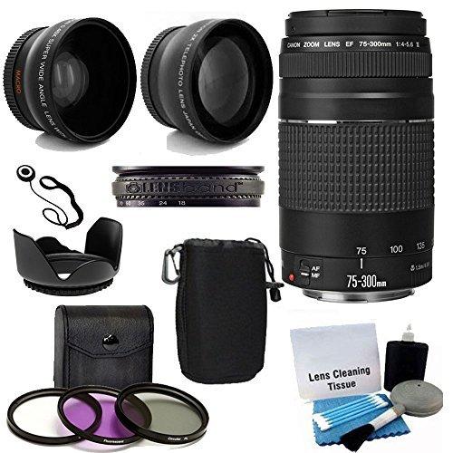 Canon EF 75-300mm f/4-5.6 III Telephoto Zoom Lens...