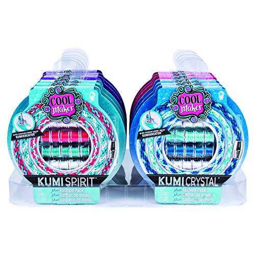 Cool Maker 6045486 - Kumi Mini - Fashion - Set, für bis zu 4 Armbänder, für Kinder ab 8 Jahren (unterschiedliche Designs)