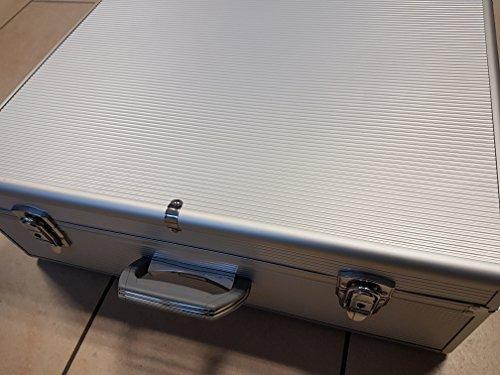 SAFE 214 CD-Koffer Alu für 144 CD`s in Hüllen