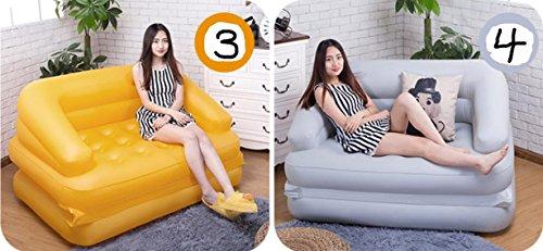 sofa&shengshiyujia Sizll Gonflable Canapé lit Double Lazy Canapé Coussin Canapé Chaises pour Usage Domestique