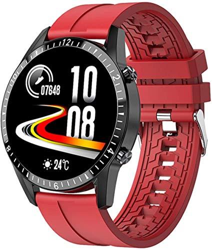 El nuevo reloj inteligente de llamada Bluetooth para hombres y mujeres de deportes fitness reloj inteligente de ritmo cardíaco de la presión arterial monitoreo de la salud para Android IOS B
