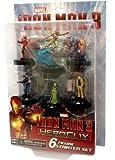 Marvel Heroclix Iron Man 3 - Set de figuritas de acción