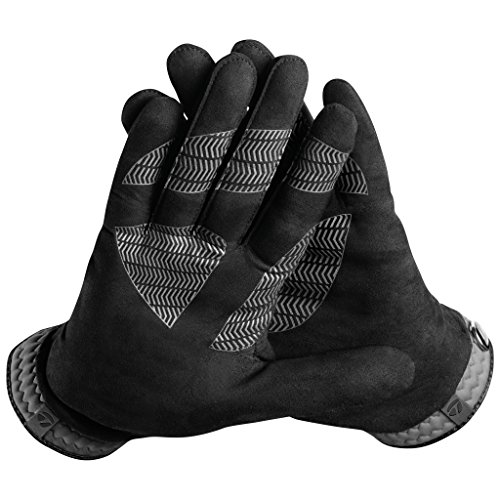 TaylorMade Rain Control Glove (Black/Gray, Large), Black/Gray(Large, Pair)