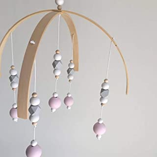 JIFRUCHS Wall Hanging Hallways DIY Bed Bell Photography Props Wooden Beads Wind Chimes Home Decoration Kids Children Room Art Gift 1