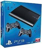 Console PS3 Ultra Slim 12 Go Noire (2 Manettes) [Importación Francesa]