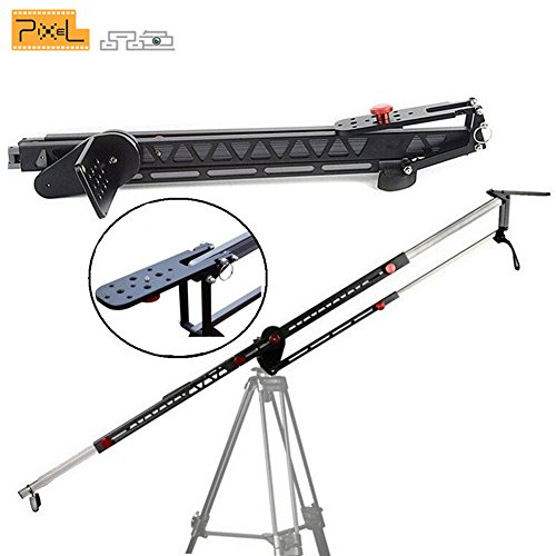 Camera Photography Stabilizer,PIXEL Photography Jib Stabilizers Telescoping Professional Camera Crane Jib Arm Portable Travel Jib