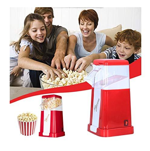 Find Bargain CreazyBee Household Children's Automatic Popcorn Machine Mini Small Corn Popcorn Machin...
