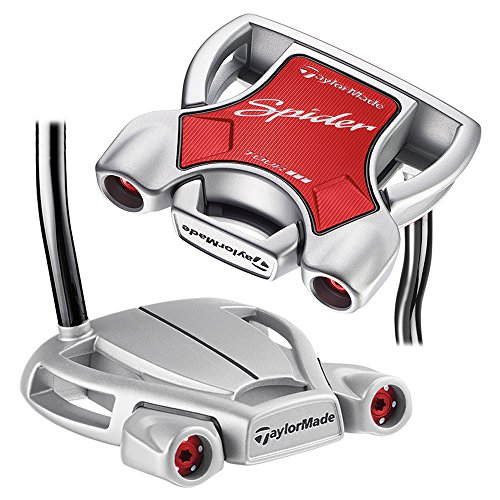 TaylorMade Spider Diamond Silver Double Bend Putter Right 33