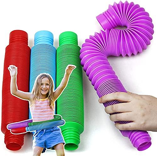 RuiXi Juguetes sensoriales para niños autistas y Fidgets para niños, juguetes de TDAH para niños y autismo juguetes para niños y niñas (color: XL 4 PSC)