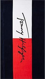 90 x 170 cm Telo da spiaggia Tommy Hilfiger Aquatic colore: Rosso