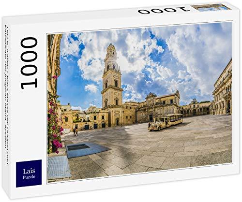 Lais Puzzle Lecce, Italia - Piazza del Duomo e Cattedrale della Vergine Maria, Puglia, Italia 1000 Pezzi