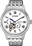 Citizen Mechanical Analogue White Dial Men's Watch
