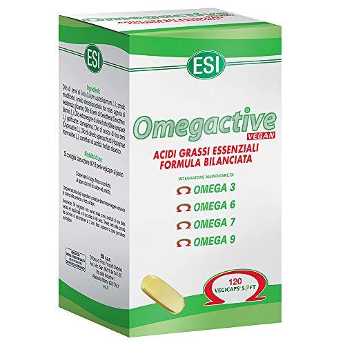ESI 3 Confezioni Omega 3 Active Vegan 120 Perle