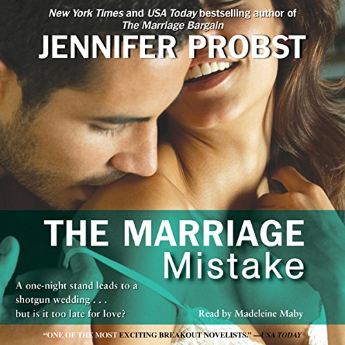 Page de couverture de The Marriage Mistake