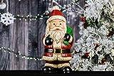Hi- Line Gift 85184-C Weihnachtsmann mit Sack, 63,5 cm